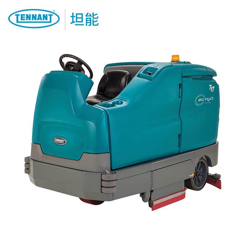 坦能洗地车T17 进口驾驶式洗地机