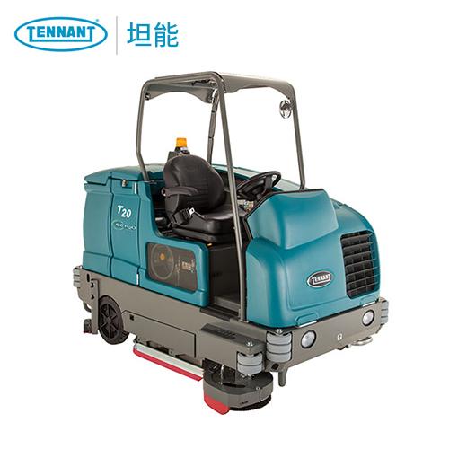 坦能洗地车T20 大型驾驶式洗地机