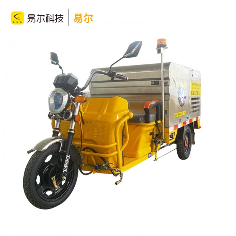 锂电池电动三轮高压冲洗车
