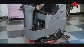 GM-MINI洗地机操作视频